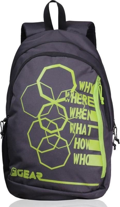 F Gear Diamond Octa 25 L Backpack(Grey, Green)