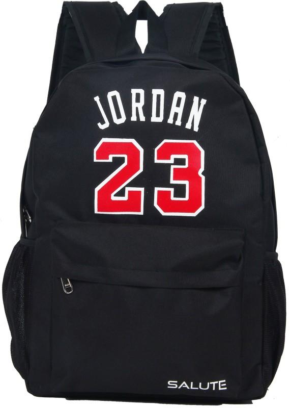 Salute Jordan Black 30 L Backpack(Black)