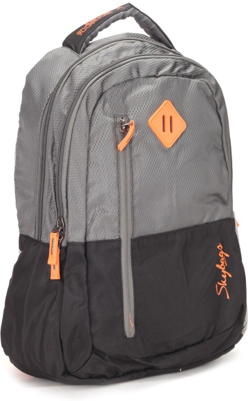 Skybags 26 L Backpack(Black, White)