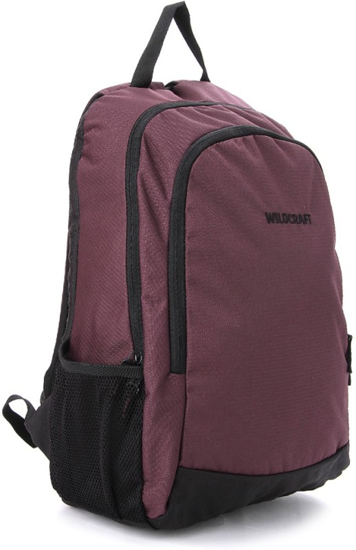 Wildcraft Pivot Purple Medium Backpack(Brown)