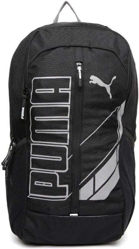 Puma Deck 2k16 Latest Black Unisex 23 L Backpack(Black)