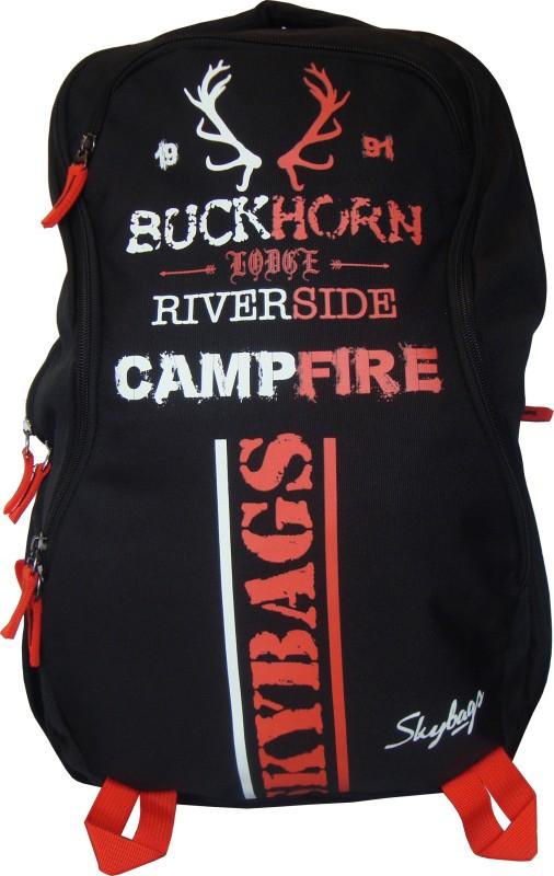 Skybags Strider 02 Black 25 L Laptop Backpack(Multicolor)