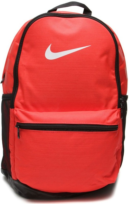 Nike Nike Brasilia Medium 24 L Laptop Backpack(Red)