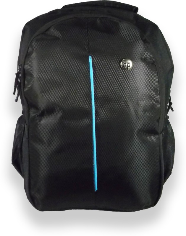 HP HPLaptop Backpack 30 L Laptop Backpack(Black, Blue)