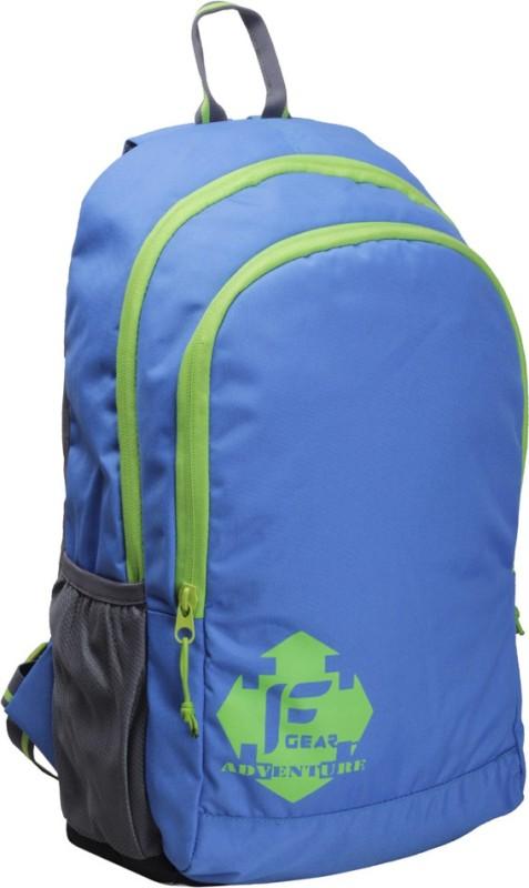 F Gear Castle Rugged Base 20 L Standard Backpack(Blue, Green)