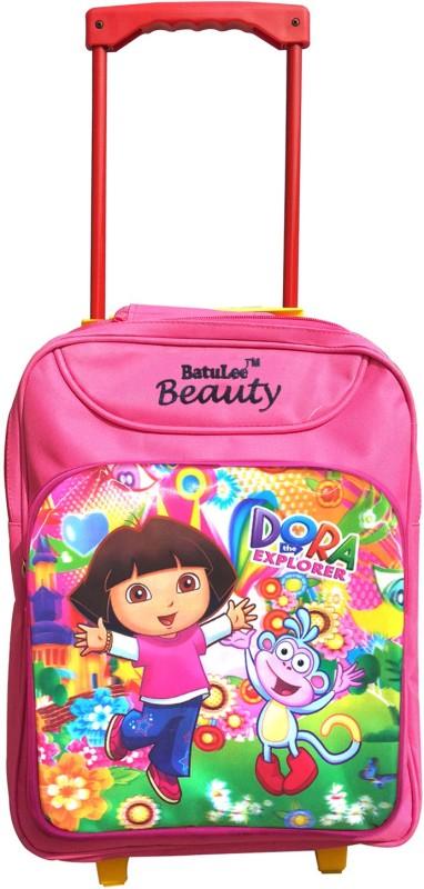 Batu Lee Dora the Explorer Mesh 17 L Trolley Backpack(Pink)