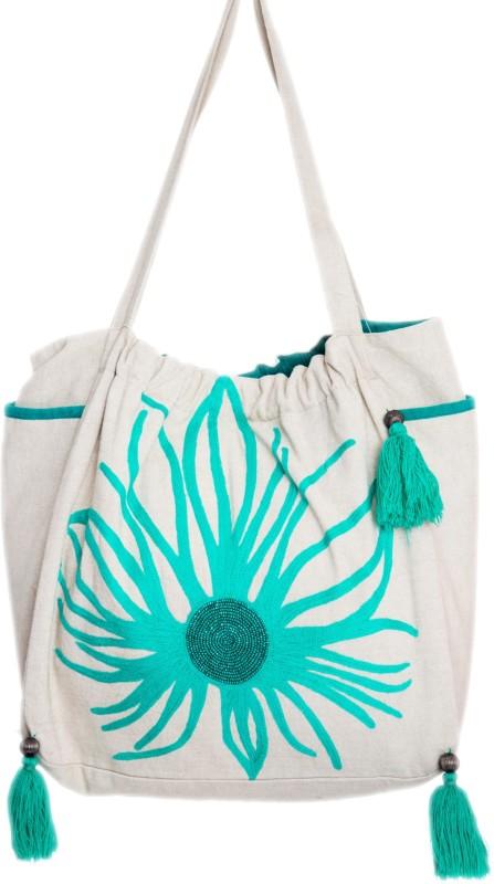 Reme RHB107 Shoulder Bag(Beige, 5 inch)