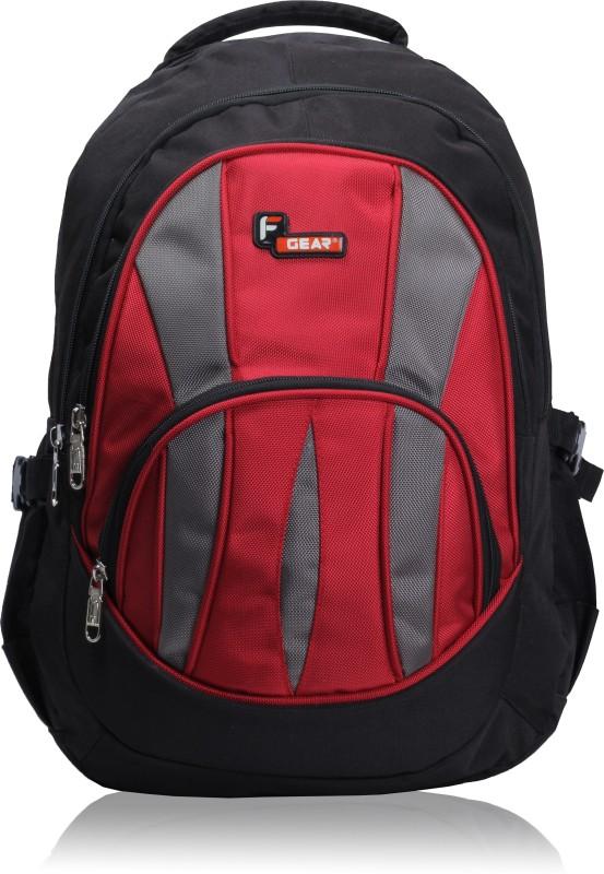 F Gear Adios 36 L Standard Backpack(Black, Red)