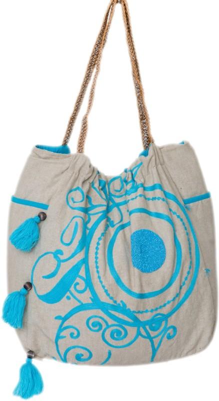 Reme RHB103A Shoulder Bag(Beige, 5 inch)