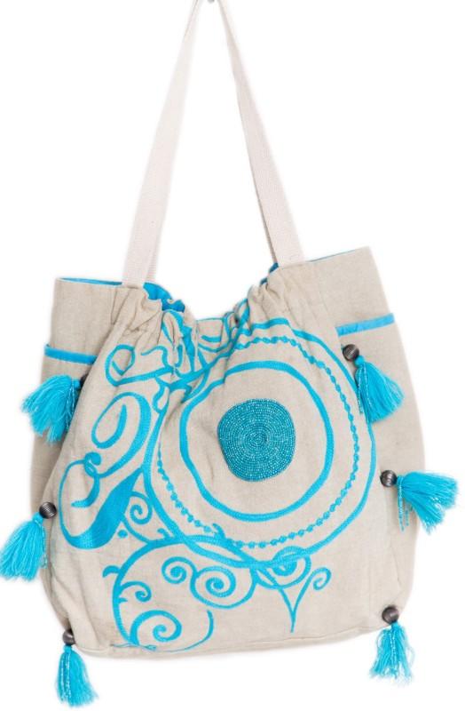 Reme RHB103 Shoulder Bag(Beige, 5 inch)