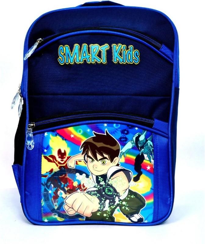 Bizarro Waterproof School Bag(Blue, 15 inch)