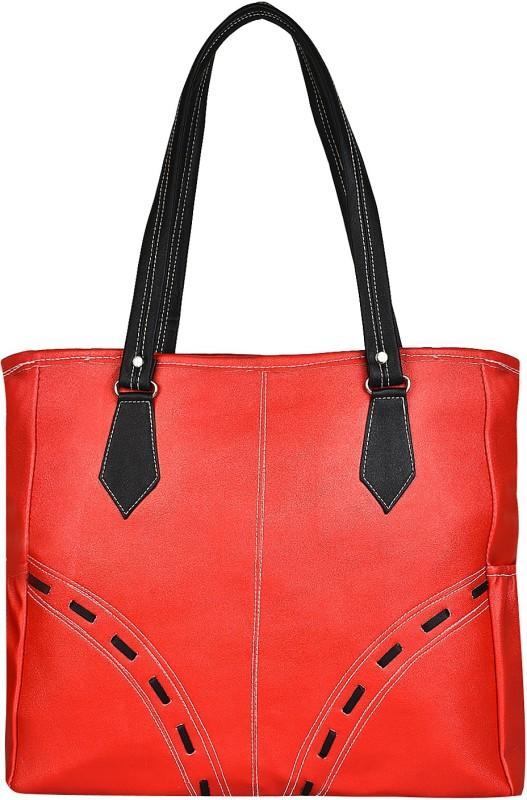 Look @me Orange with Black Fowers and Strap Shoulder Bag(Orange, 5 L)