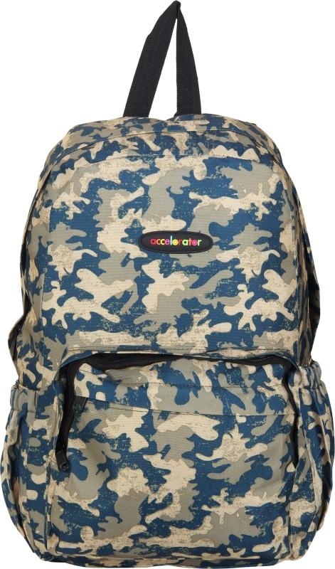 Accelerator Digital Camouflage Printed Casual Backpack Waterproof Backpack(Green, 20 L)