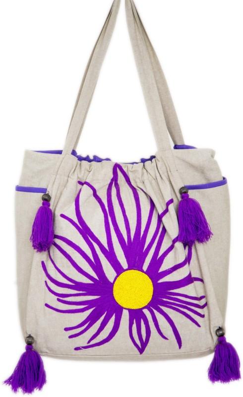 Reme RHB106 Shoulder Bag(Beige, 5 inch)