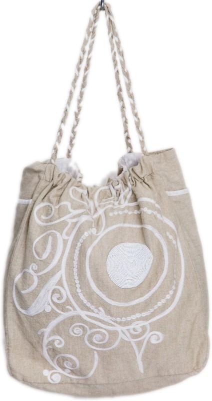Reme RHB101 Shoulder Bag(Beige, 5 inch)