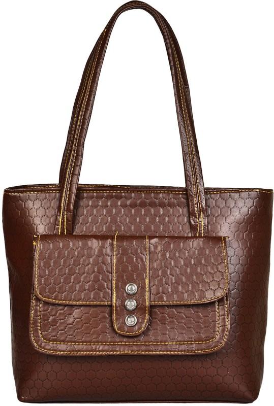 Look @me Brown Office Bag Shoulder Bag(Brown, 5 L)
