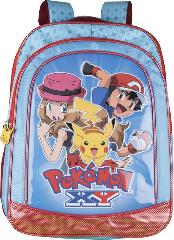 Pokemon Premium Waterproof School Bag(Multicolor, 18 inch)