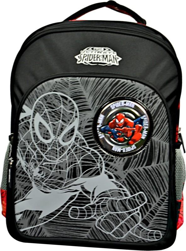 Simba Spiderman School Bag(Multicolor, 16 inch)