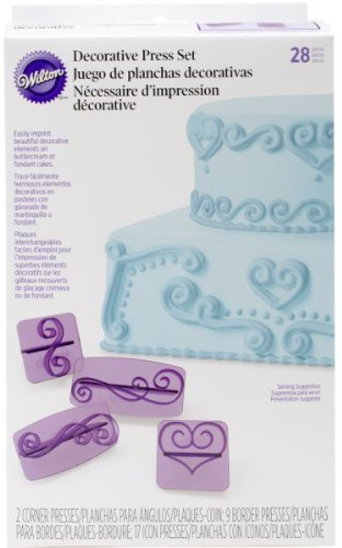 Wilton Cake Topper(Multicolor Pack of 28)