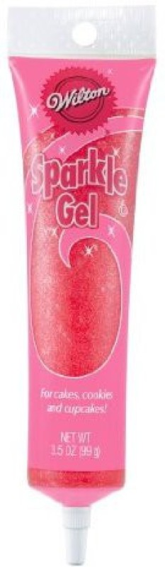 Wilton Edible Baking Glitters(Red Pack of 1)