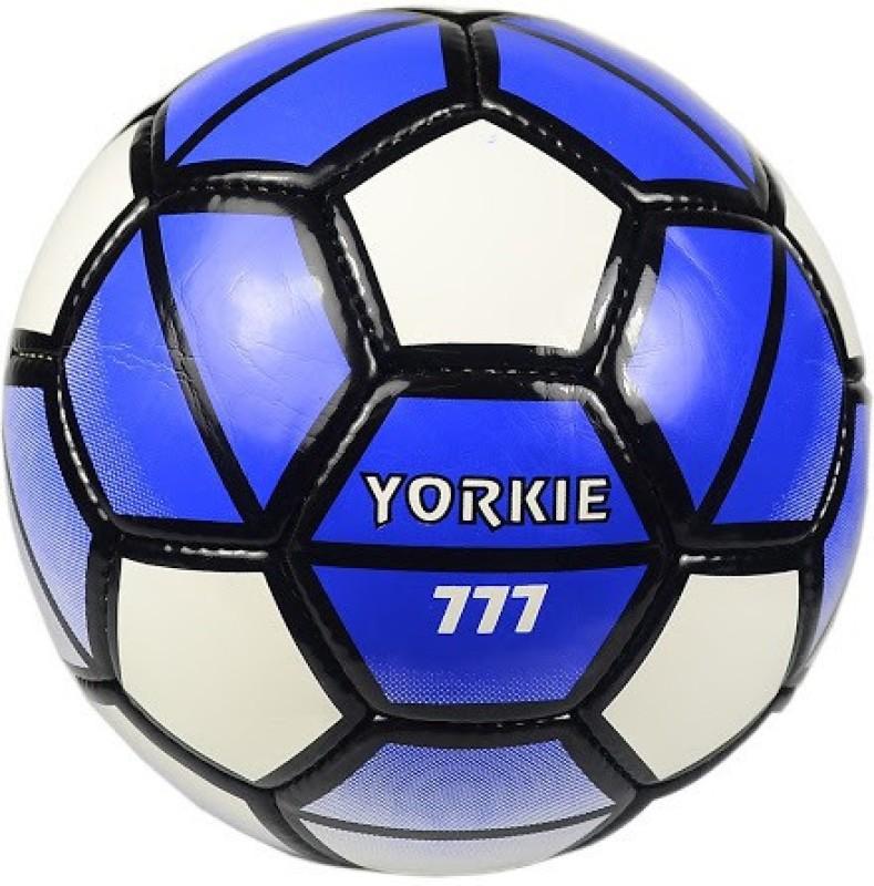 Jonex Yorkie Football - Size: 5(Pack of 1, Blue, White, Black)