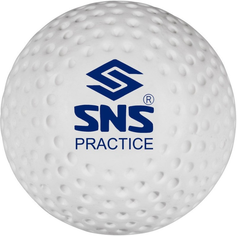 SNS PRACTICE DIMPLE Hockey Ball(Pack of 6, White)