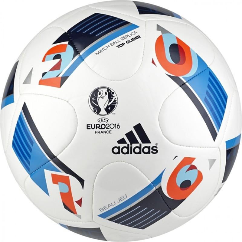 ADIDAS Euro16Topgli Football - Size: 5(Pack of 1, Multicolor)