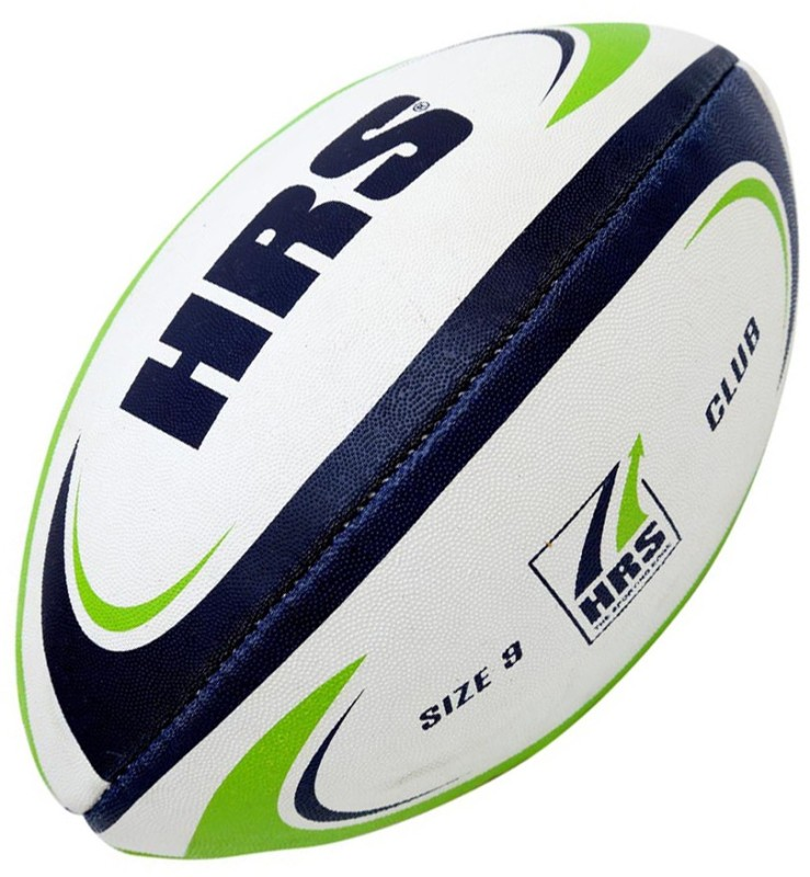 HRS Club Rugby Ball - Size: 3(Pack of 1, Multicolor)