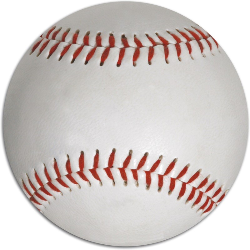 CW Crown Baseball(Pack of 6, White)