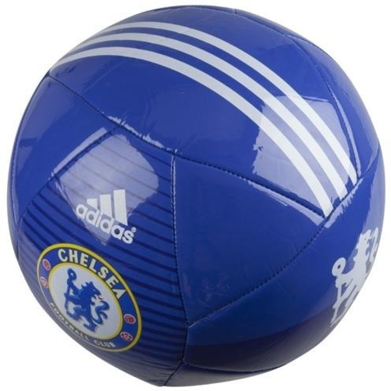 Adidas Chelsea FC Football - Size: 5(Pack of 1, Blue, White)