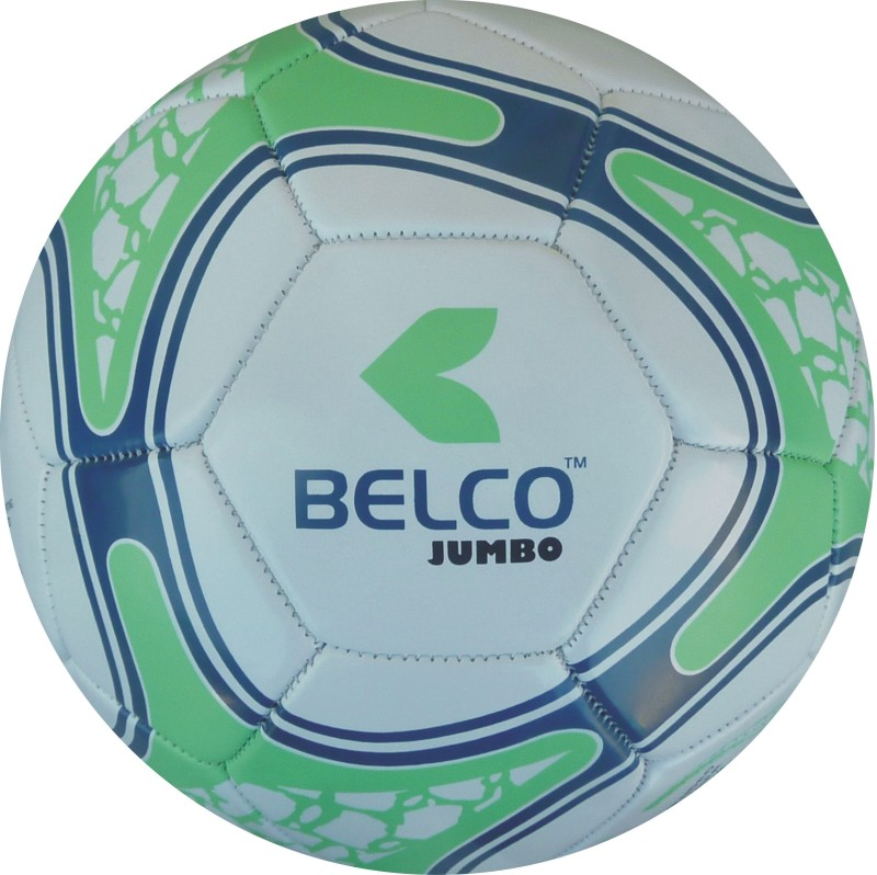 Belco Jumbo 4 Football - Size: 5(Pack of 1, Multicolor)