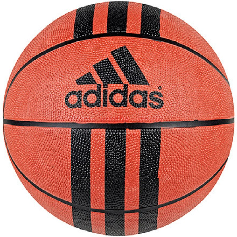 Adidas 3 Stripe D 29.5 Basketball - Size: 7(Pack of 1, Black, Bbanat)