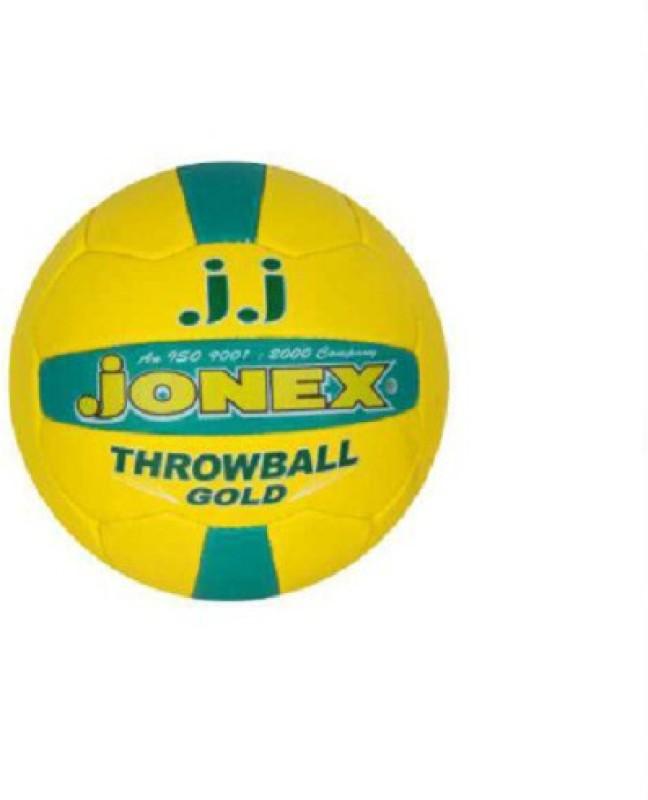 JJ Jonex GOLD Throw Ball - Size: 5(Pack of 1, Multicolor)