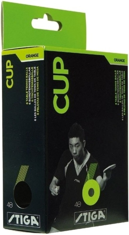 Stiga Cup Table Tennis Ball(Pack of 6)