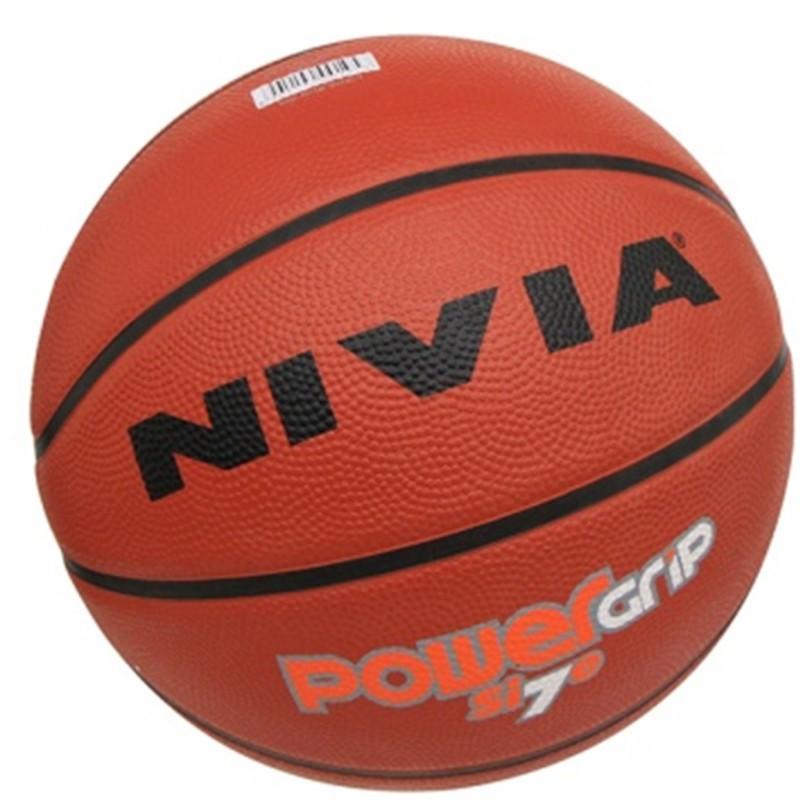 Nivia PowerGrip Basketball - Size: 7(Red)