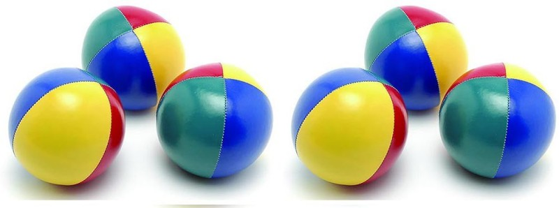 Sahni Sports Pro (Set of 6) Juggling Ball(Pack of 6, Multicolor)