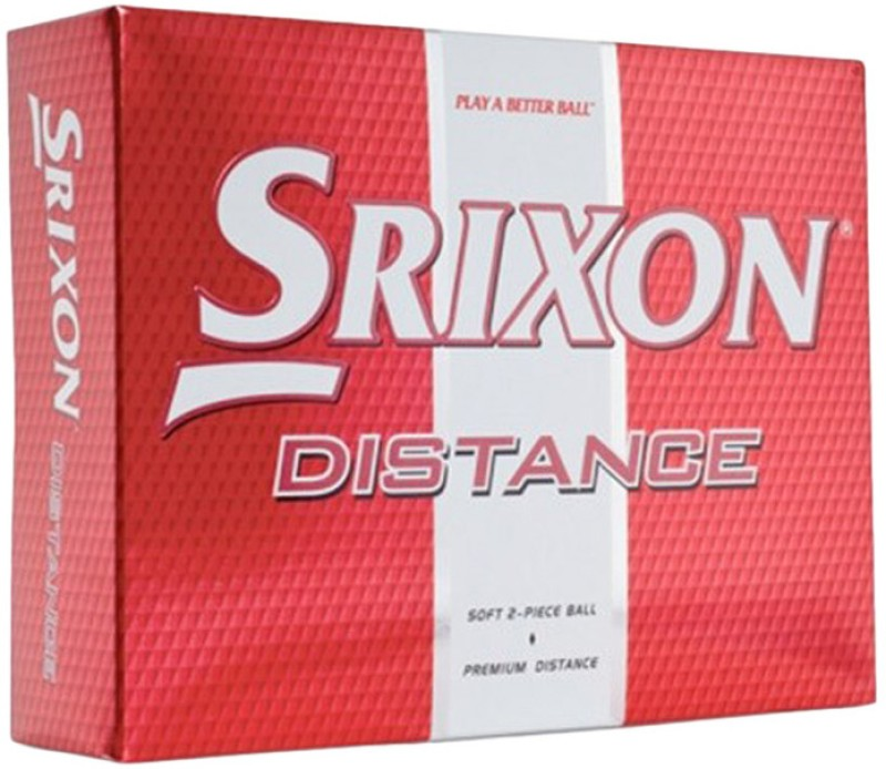Srixon Distance Golf Ball(Pack of 12, White)