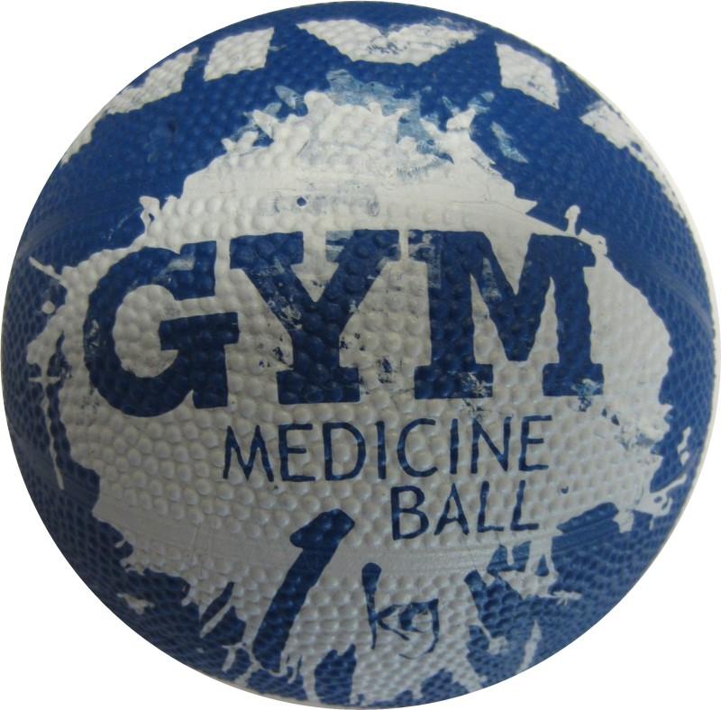 Nivia Medicine Medicine Ball(Weight:  1 Kg, Blue)