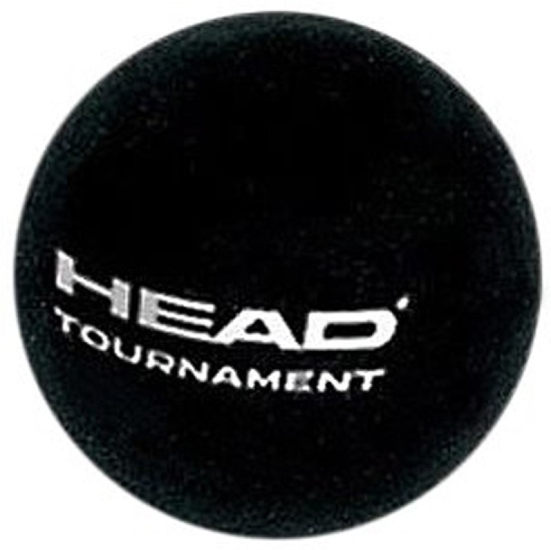 Head Tournament Squash Ball(Pack of 1, Black)