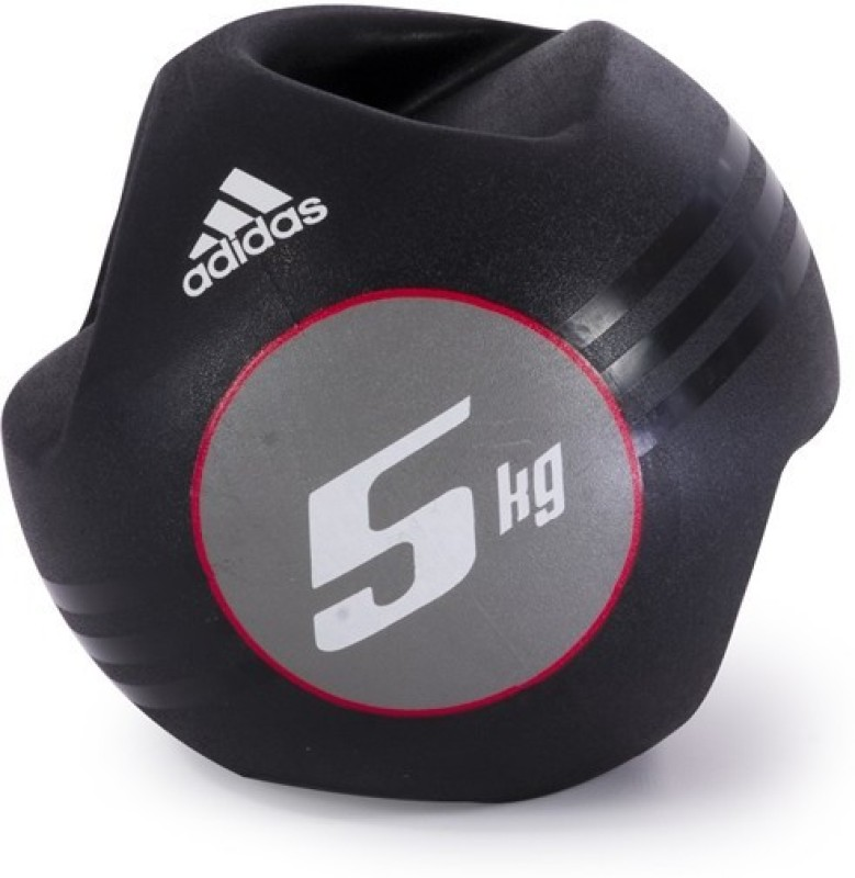 ADIDAS Dual Grip Medicine Ball - 5kg ADBL-10413 5000 g Medicine Ball(0 cm)