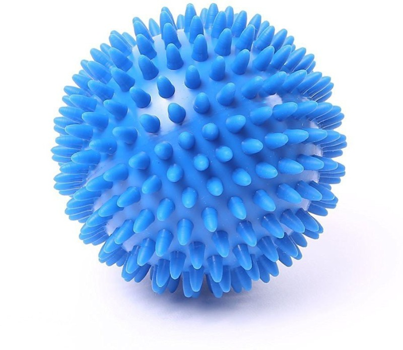 Kobo Health And Yoga Spongy Reflex for Stress Relieving |Spikes Makes Sensory Stimulation / Complete Body Massage Ball(Pack of 1, Blue)