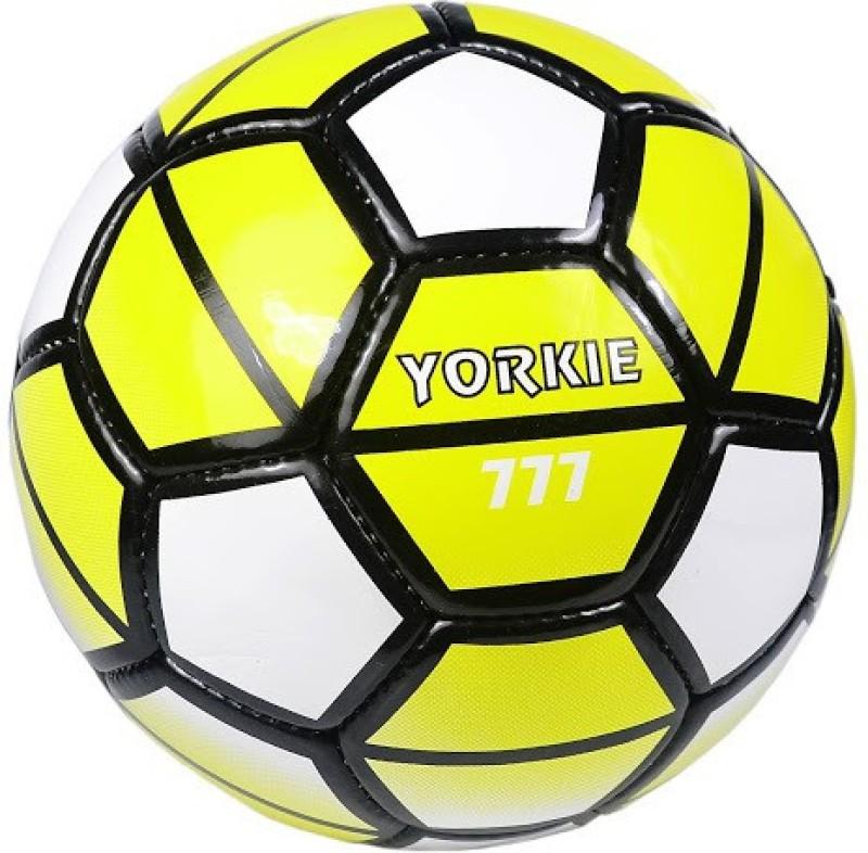 Jonex Yorkie Football - Size: 5(Pack of 1, Yellow, White, Black)