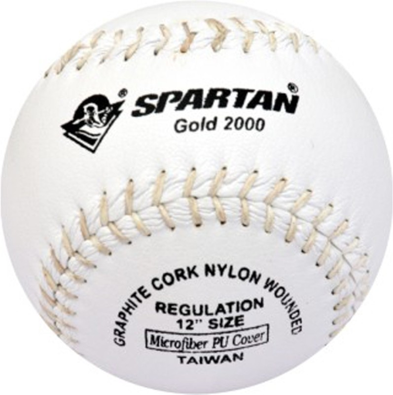 Spartan Gold 2000 Baseball(Pack of 1, White)