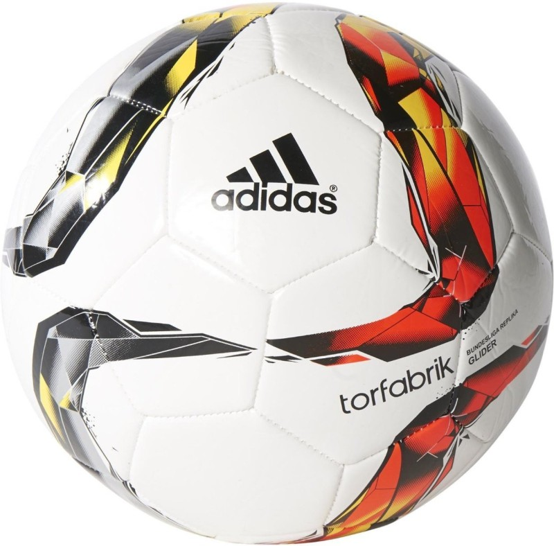 ADIDAS DFL Glider Football - Size: 5(Pack of 1, White)