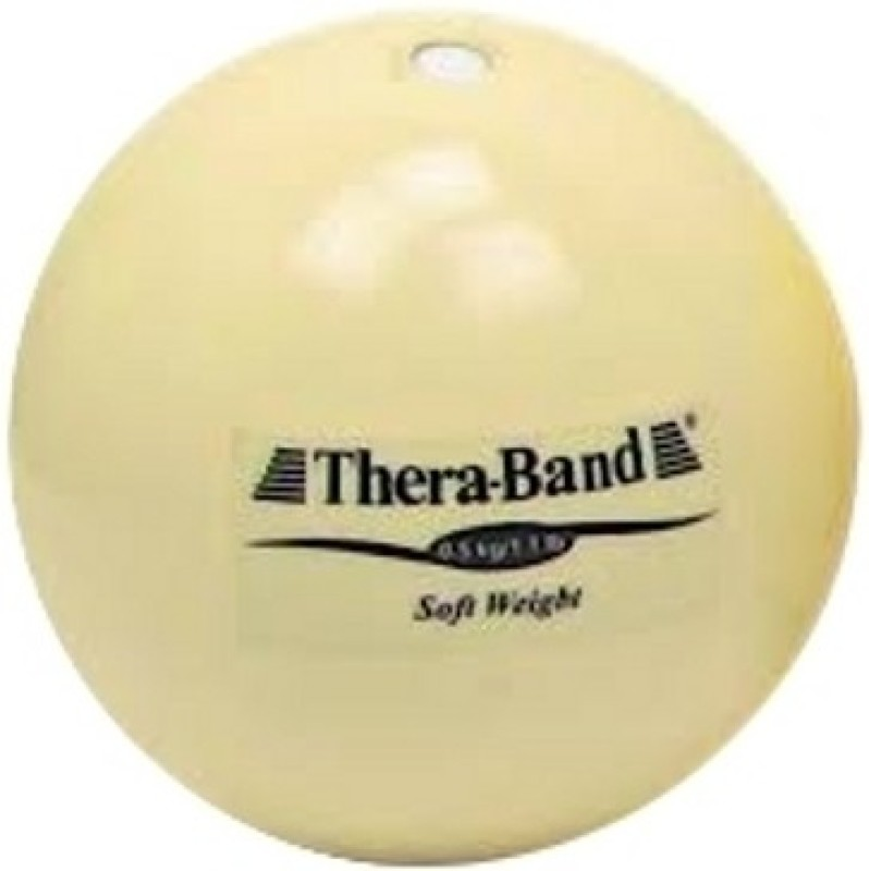 Thera-Band Soft Weight Medicine Ball(Weight:  0.5 Kg, Beige)