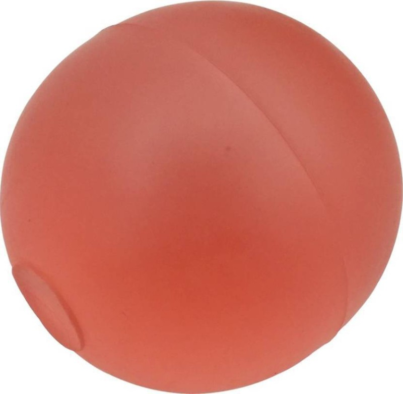 SM Soft Massage Ball - Size: 6(Pack of 1, Red)