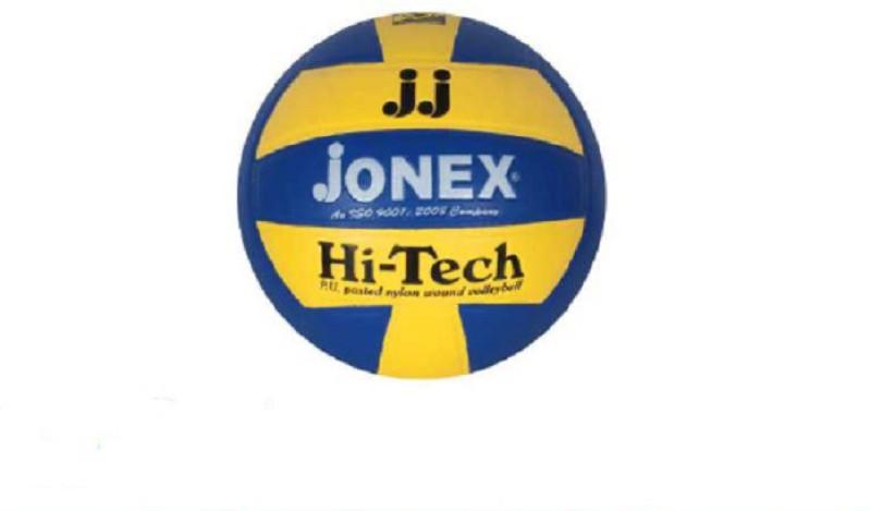 JJ Jonex HI-TECH MOULDED Volleyball - Size: 4(Pack of 1, Multicolor)
