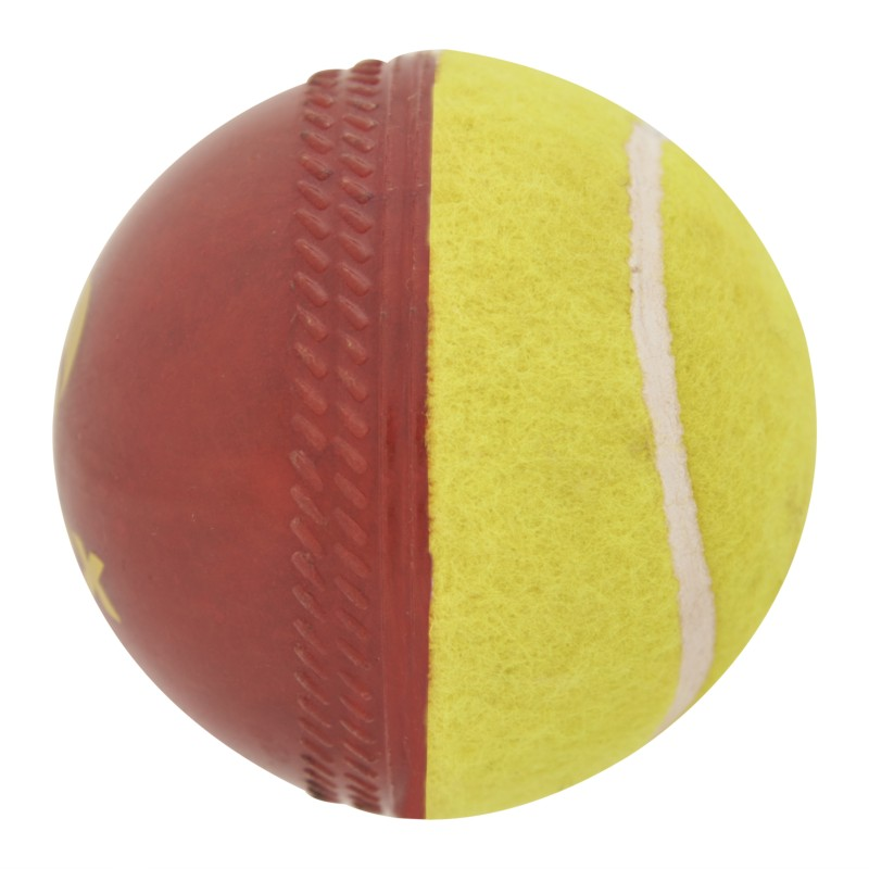 Omtex Swing Cricket Ball - Size: 5.5(Pack of 1, Red)