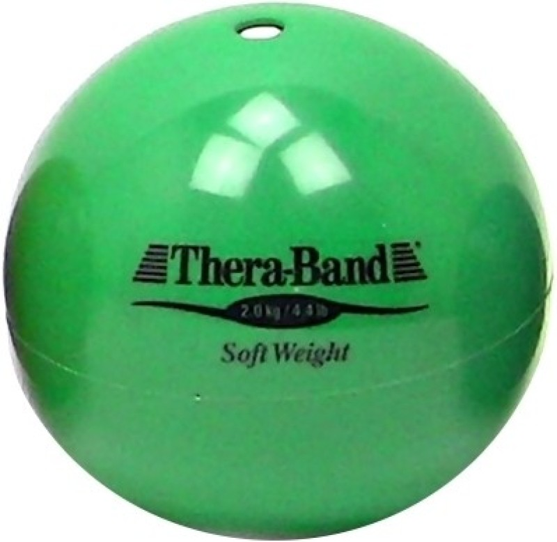 Thera-Band Soft Weight Medicine Ball(Weight:  2 Kg, Green)