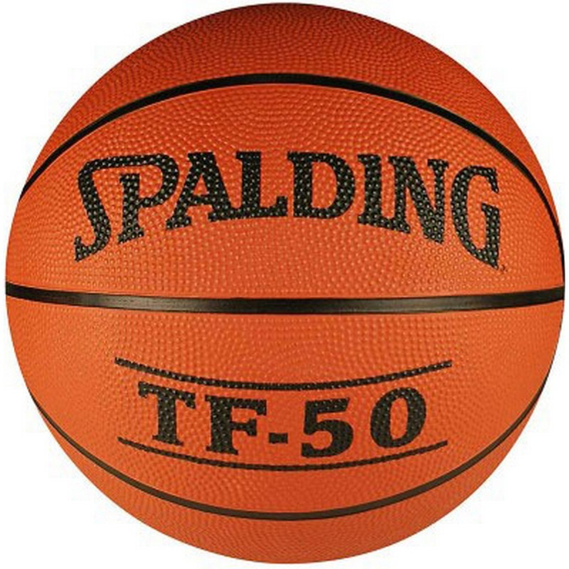 SPALDING TF-50 Basketball - Size: 7(Pack of 1, Orange)